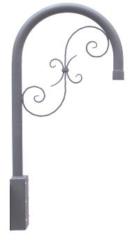STA250 supporto a lampioncino