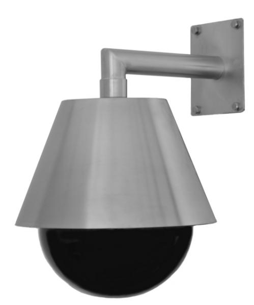 CSX255 dome housing stainless steel AISI316