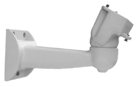 ST700 supporto a parete con passaggio cavi protetto