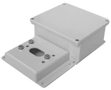 PA1/SD piastra adattatore per pareti a scarsa consistenza con box